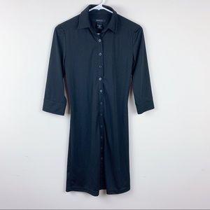 🔥3/15 Express Women's Button Down Shirt Dress